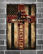 Wrestler Wrestling Poster 11x17 Poster aos-poster-portrait-11x17-lifestyle-18