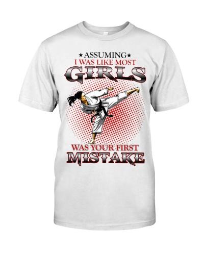 Taekwondo Karate Girls
