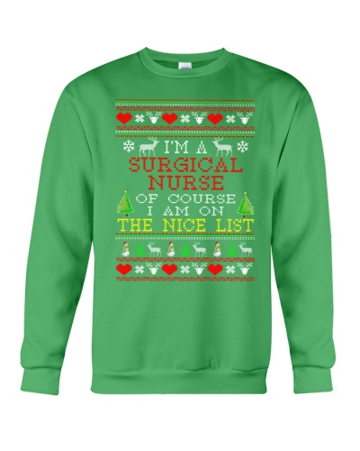 Surgical Nurse Ugly Christmas
