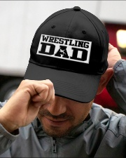 Wrestling Dad Embroidered Hat garment-embroidery-hat-lifestyle-01