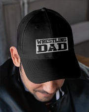 Wrestling Dad Embroidered Hat garment-embroidery-hat-lifestyle-02