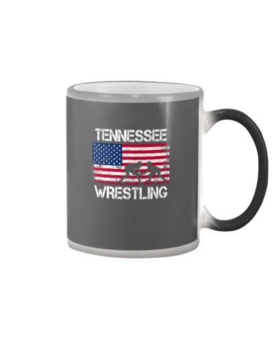 Tennessee Wrestling American Flag