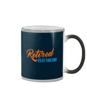 Retired Electrician Color Changing Mug thumbnail