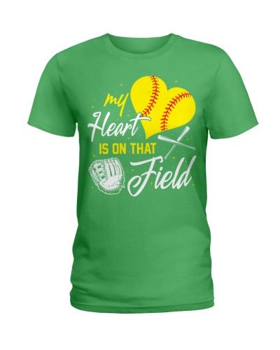 Softball Heart