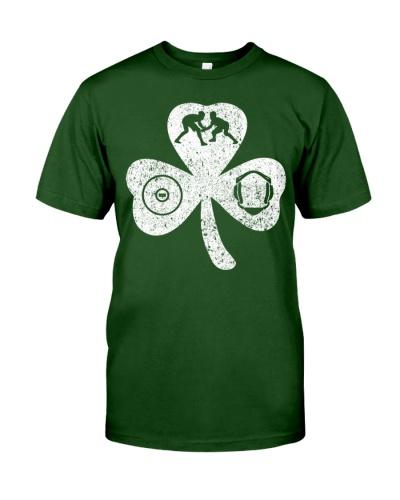 Wrestling Shamrock Irish