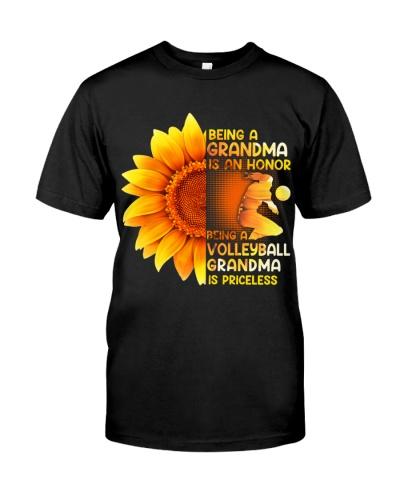 Volleyball Grandma Is Priceless
