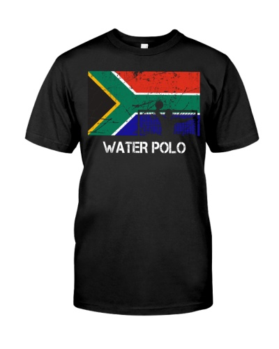 South Africa Flag Water Polo
