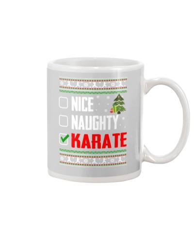 Karate Ugly Christmas