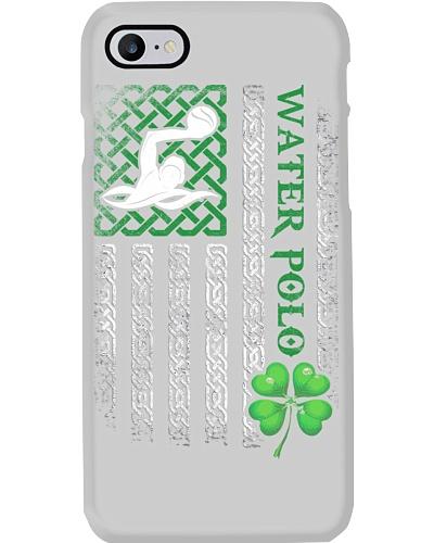 Water Polo Irish American Flag