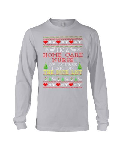 Home Care Nurse Ugly Christmas