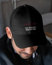 Wrestling Heartbeat Embroidered Hat garment-embroidery-hat-lifestyle-02