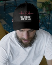 Wrestling Heartbeat Embroidered Hat garment-embroidery-hat-lifestyle-06