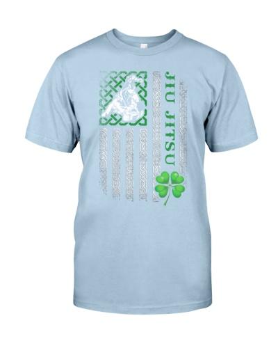 Jiu Jitsu Irish American Flag