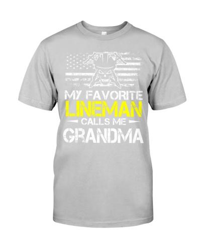 My Favorite Lineman Calls Me Grandma