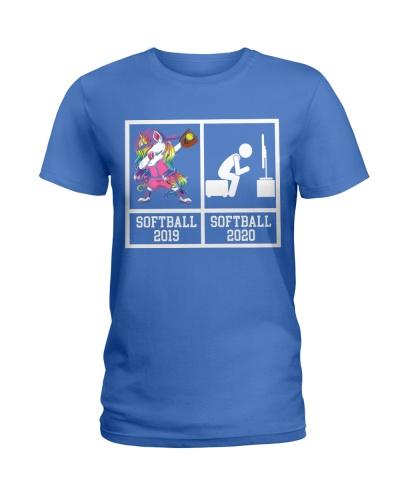 Softball Dabbing Unicorn 2020