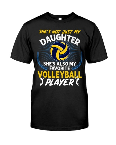 Daughter Volleyball Player