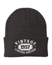 1957 Birthday Vintage Anniversary Knit Beanie tile