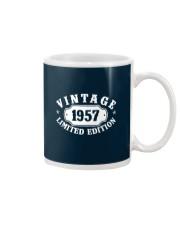 1957 Birthday Vintage Anniversary Mug tile