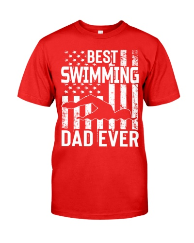 Best Swimming Dad Ever Father's Day