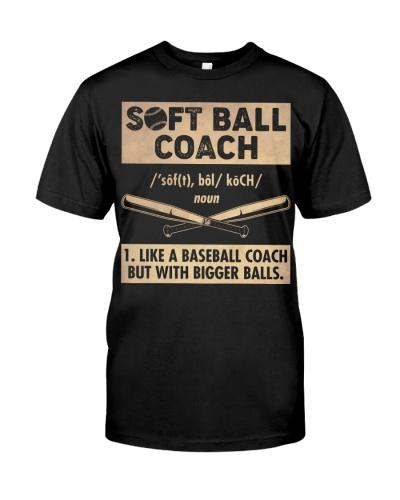 Softball Coach Definition