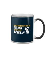 Old Man Who Plays Golf Color Changing Mug thumbnail