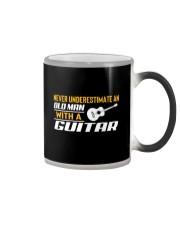 Old Man With A Guitar Color Changing Mug thumbnail