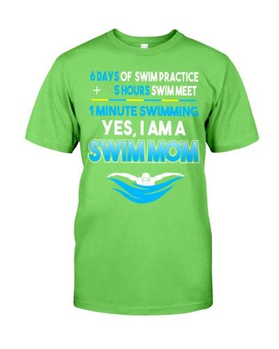 Swim Mom 6 Day Of Swim Practice