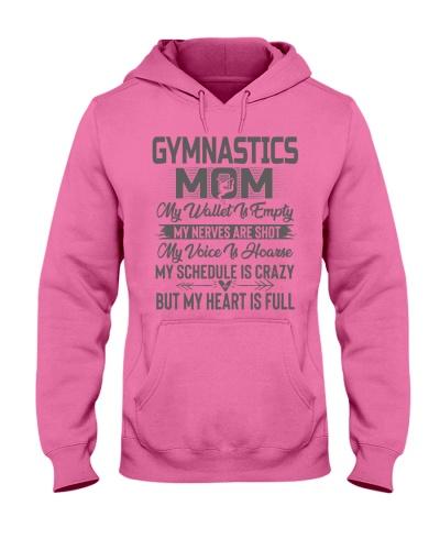 Gymnastics Mom My Heart Is Full Tee