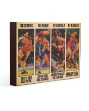 Wrestling be strong when you are weak 14x11 Gallery Wrapped Canvas Prints thumbnail