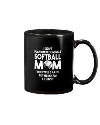 Plan On Becoming A Softball Mom