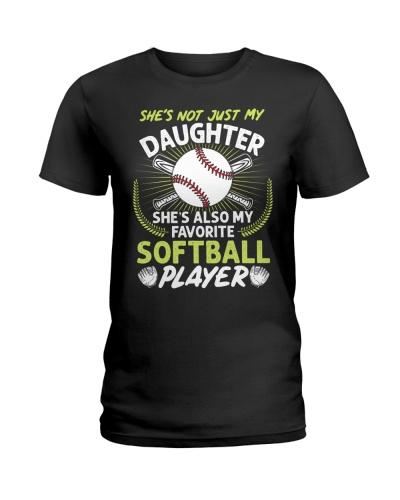 Daughter Softball Player
