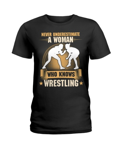 Woman Knows Wrestling