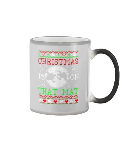 Wrestling Mat Ugly Christmas