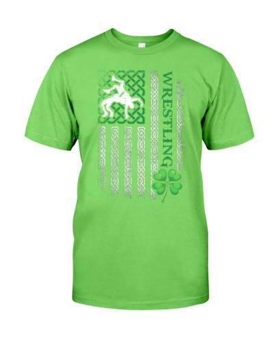 Wrestling Irish American Flag