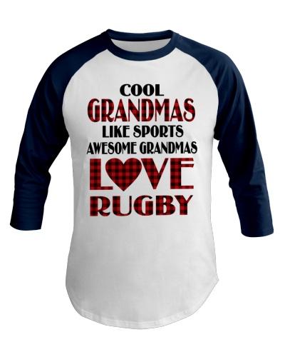 Awesome Grandmas Love Rugby