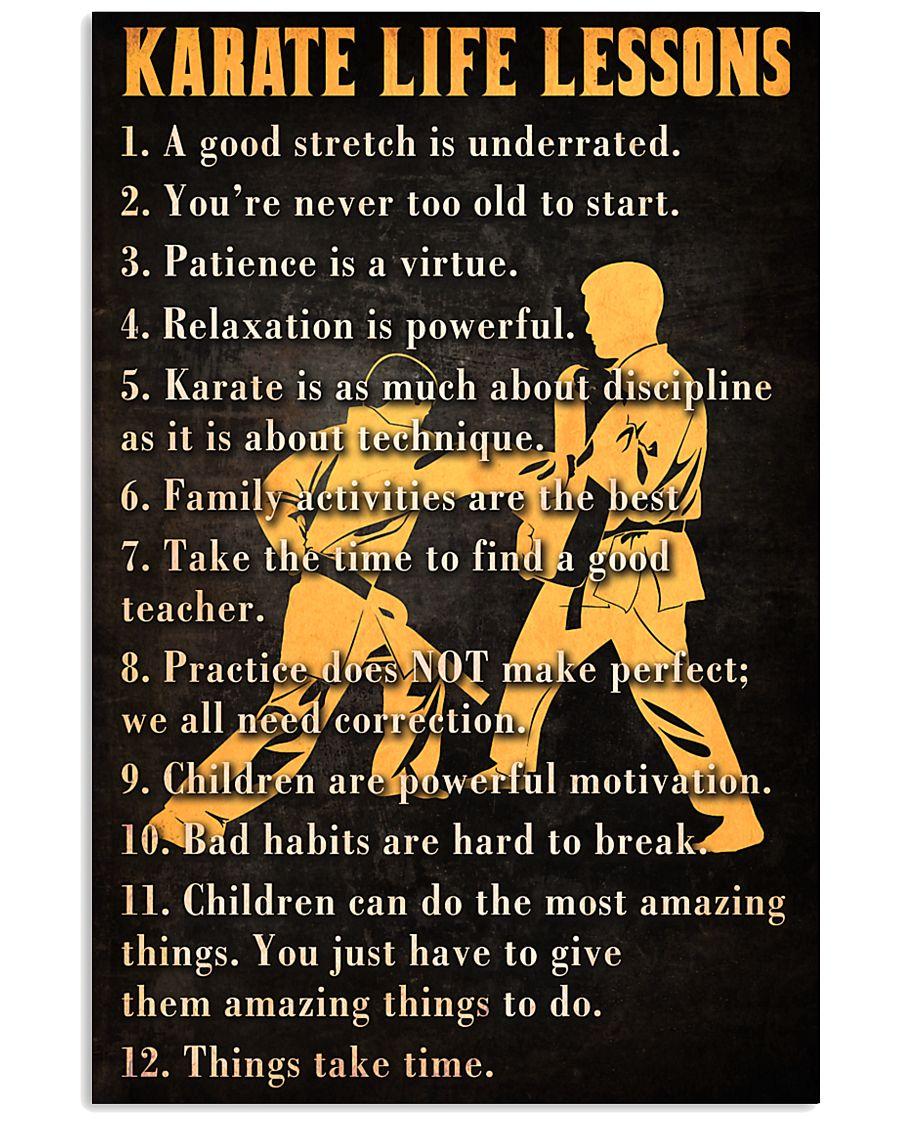 Karate Life Leesons 11x17 Poster