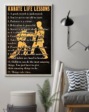 Karate Life Leesons 11x17 Poster lifestyle-poster-1