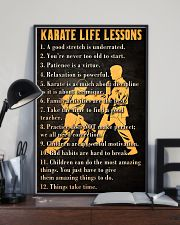 Karate Life Leesons 11x17 Poster lifestyle-poster-2