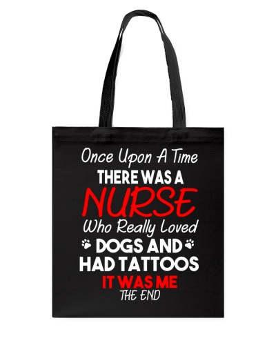 Once Upon A Time Nurse Loved Dog And Tattoos