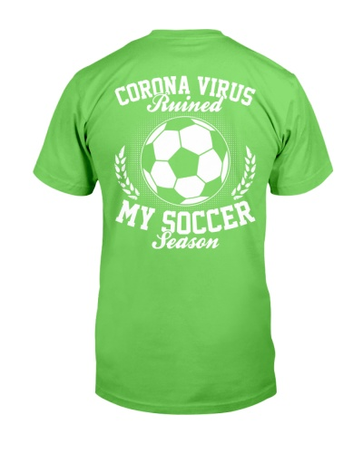 Soccer Season 2020 Backside