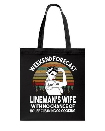 Weekend Forecast Lineman's Wife