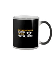 Old Man With A Pickleball Paddle Color Changing Mug thumbnail