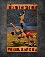 Wrestling Touch Me Poster 11x17 Poster aos-poster-portrait-11x17-lifestyle-12