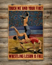 Wrestling Touch Me Poster 11x17 Poster aos-poster-portrait-11x17-lifestyle-14