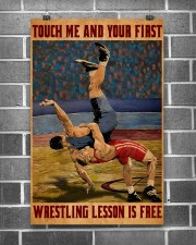 Wrestling Touch Me Poster 11x17 Poster aos-poster-portrait-11x17-lifestyle-18
