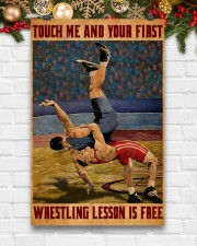 Wrestling Touch Me Poster 11x17 Poster aos-poster-portrait-11x17-lifestyle-23
