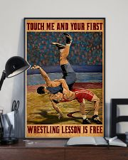 Wrestling Touch Me Poster 11x17 Poster lifestyle-poster-2