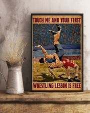 Wrestling Touch Me Poster 11x17 Poster lifestyle-poster-3