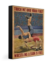 Wrestling Touch Me Poster Gallery Wrapped Canvas Prints tile