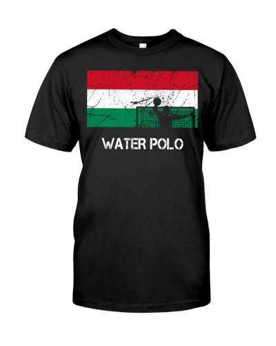 Hungary Flag Water Polo